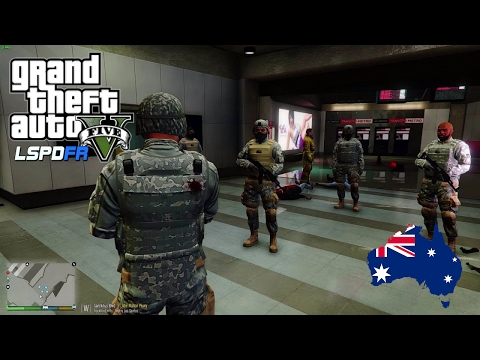 GTA 5 - LSPDFR Australia: Military Responds To Threat In Los Santos