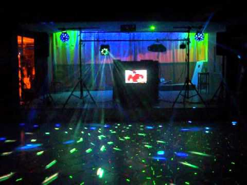 Dj Light Set Up Youtube