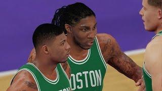 NBA 2K16 PS4 Play Now - Celtics Run and Gun!