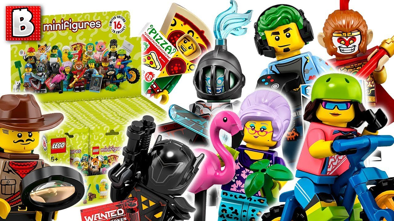 New Collectible Minfigure Series 19 Figs Revealed! LEGO News