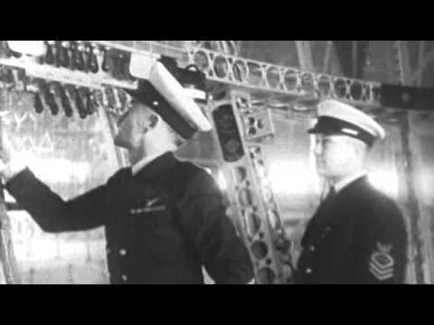 USS Macon: Construction & First Flight (1)