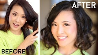 How To Fake Short Hair (Faux Bob) Thumbnail