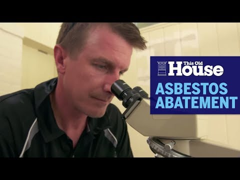 How Asbestos Abatement Works | This Old House