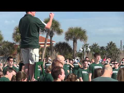 Michigan State Marching Band  ~  Hilton Clearwater Beach FL