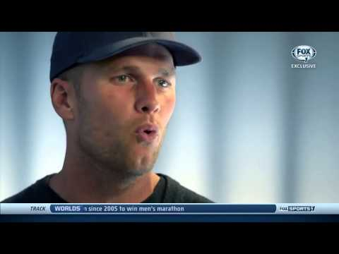 2014 NFL Playoffs Preview - Indianapolis Colts at New England Patriots - Tom Brady Interview