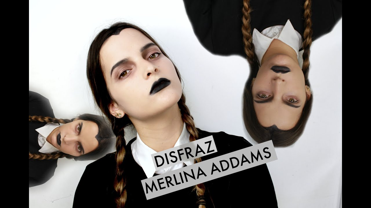 Disfraz Merlina Addams Fashaddicti Youtube - Disfraces-familia-adams