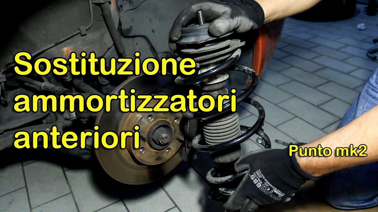 Cambio Ammortizzatori Anteriori Fiat Punto Mk2 Youtube