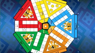 Ludo King 5 Players Match with Computer Gameplay    Ludo King. screenshot 3