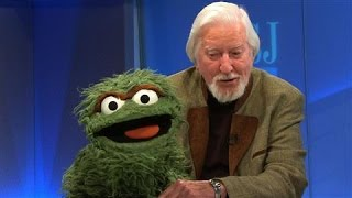 Oscar the Grouch Visits WSJ