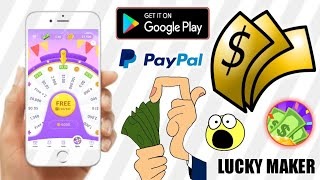 How to earn google gift cards by playing games | Free paypal money | Lucky Maker App | Tricks Hoster