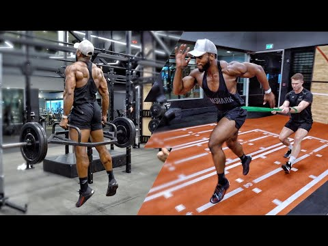 Pro NFL Football & Rugby Training   Speed & Acceleration Drills