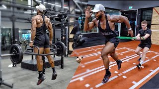 Pro NFL Football & Rugby Training | Speed & Acceleration Drills