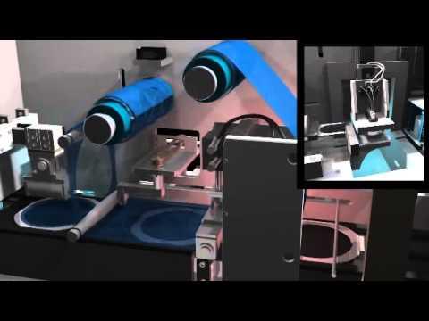 全自動led晶圓貼膜設備 Automatic Led Wafer Film Equipment Youtube