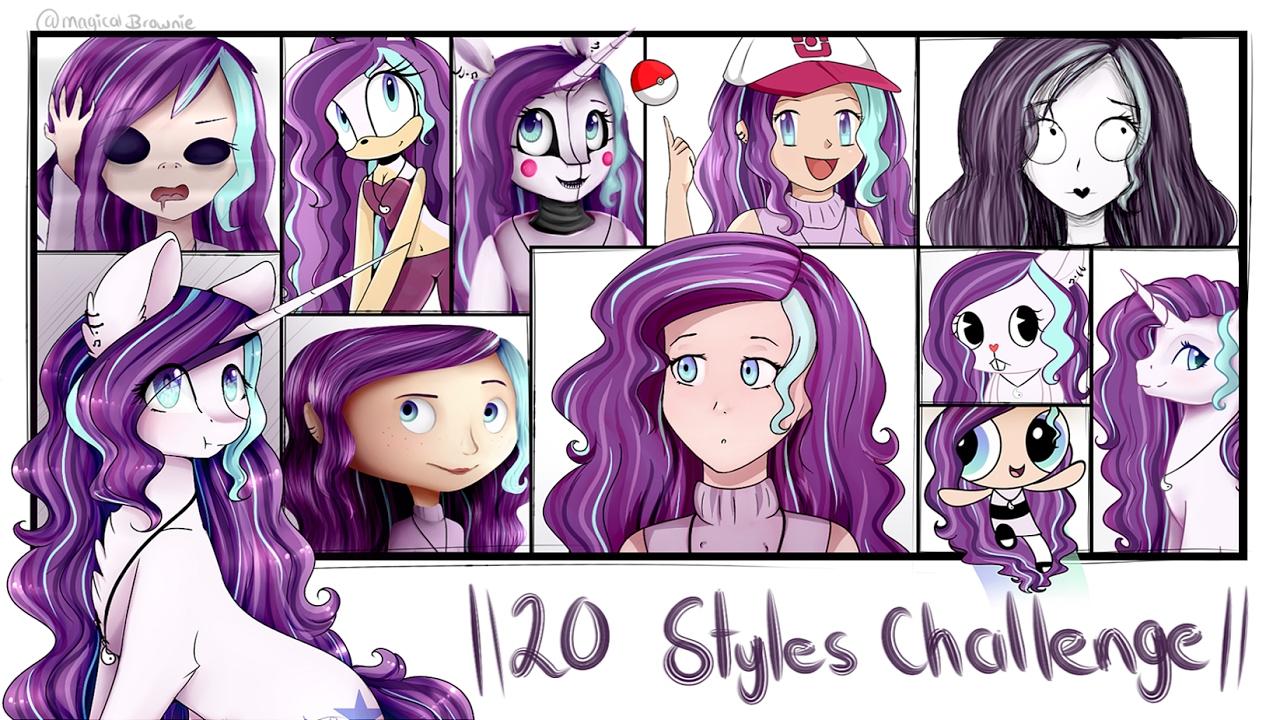 20 Styles Challenge