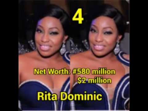 top 10 richest nollywood actress with their net worth in dollar and naira latest