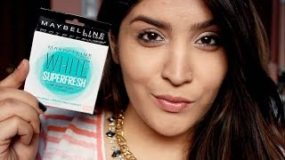 *NEW* Maybelline White Superfresh Compact | Review and Demo