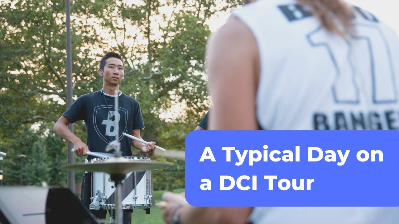 DCI Tour Day in the Life - Bluecoats 2017