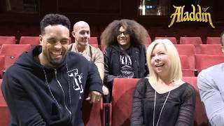 Diversity Interview - Ashley Banjo, Jordan Banjo, Perri Kiely & Terry Smith talk about Aladdin Panto