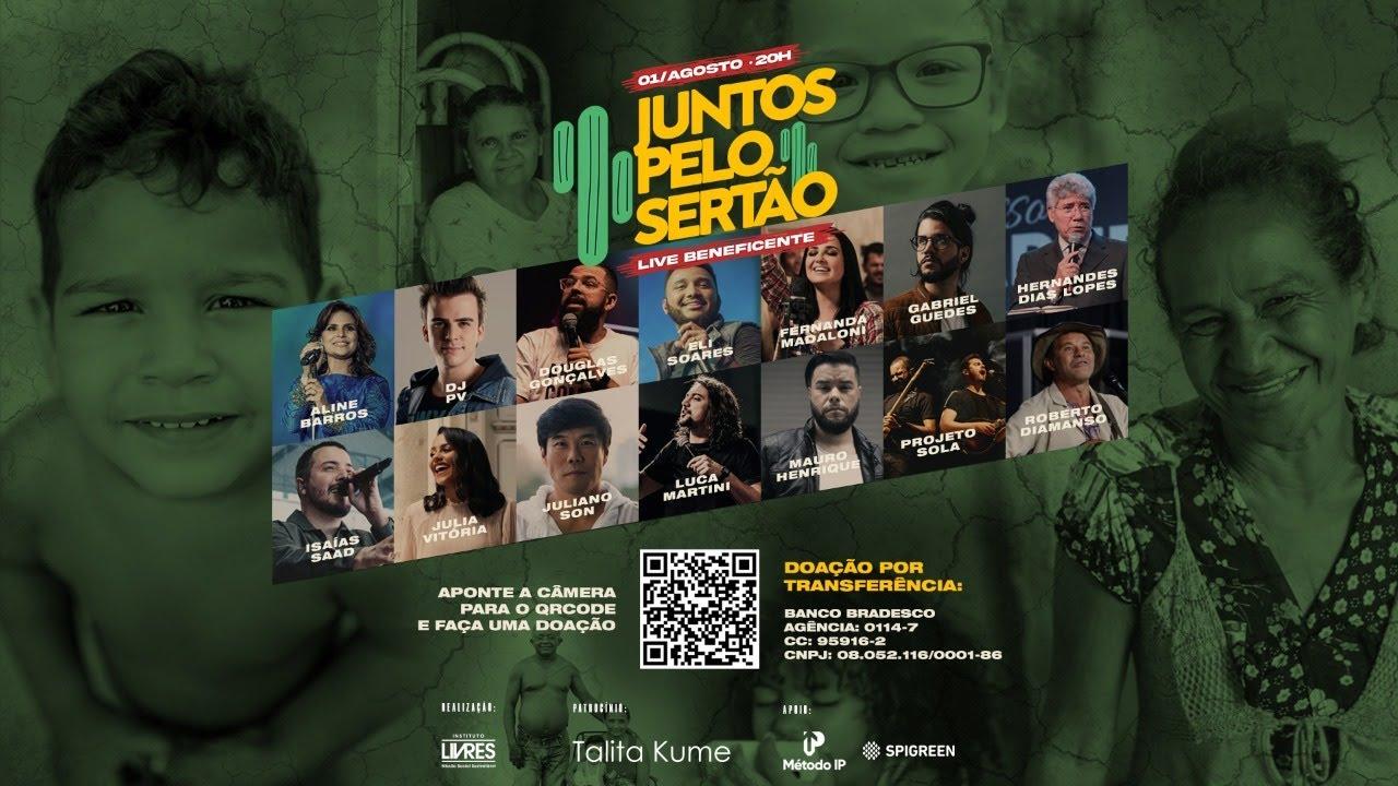 LIVE • JUNTOS PELO SERTÃO // #JuntosPeloSertão #EliSoares
