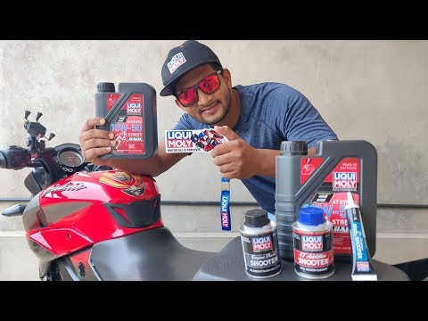 Pulsar Performance Upgrade with LIQUI MOLY Oil & additives #withme