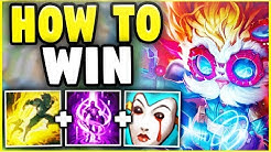 HOW TO WIN EVERY RANKED GAME WITH HEIMERDINGER IN SEASON 8! YOU CAN'T LOSE WITH THIS STRATEGY!