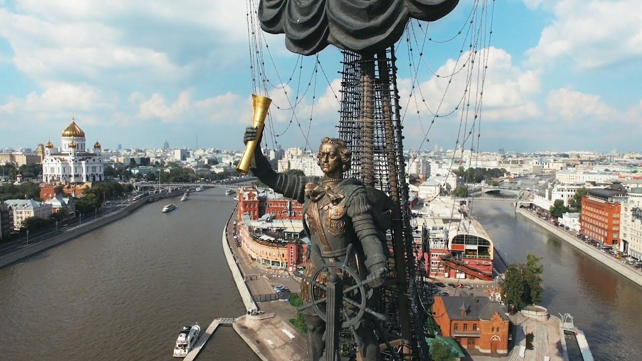 фото памятник петру первому в москве