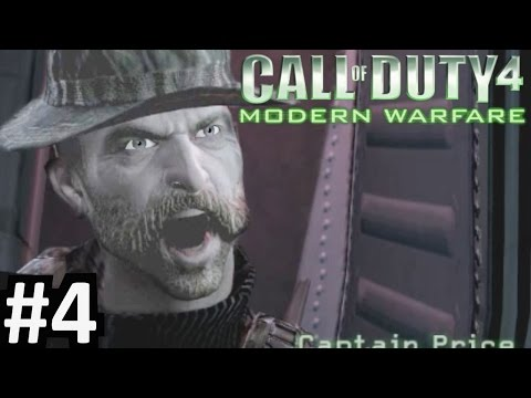 "CoD4 Campaign Part 4 ""Call of Duty 4: Modern Warfare"" PC Gameplay"