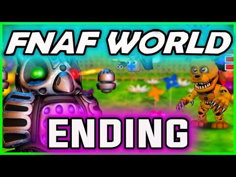 FNAF World ENDING GAMEPLAY | WINK END ;) | FNAF World Walkthrough Ending