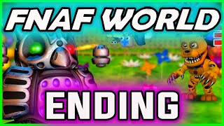 FNAF World ENDING GAMEPLAY | WINK END ;) | FNAF World Walkthrough Ending