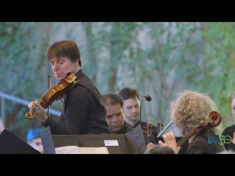 Joshua Bell and Steven Isserlis play Brahms Double Concerto at Bravo! Vail 2017