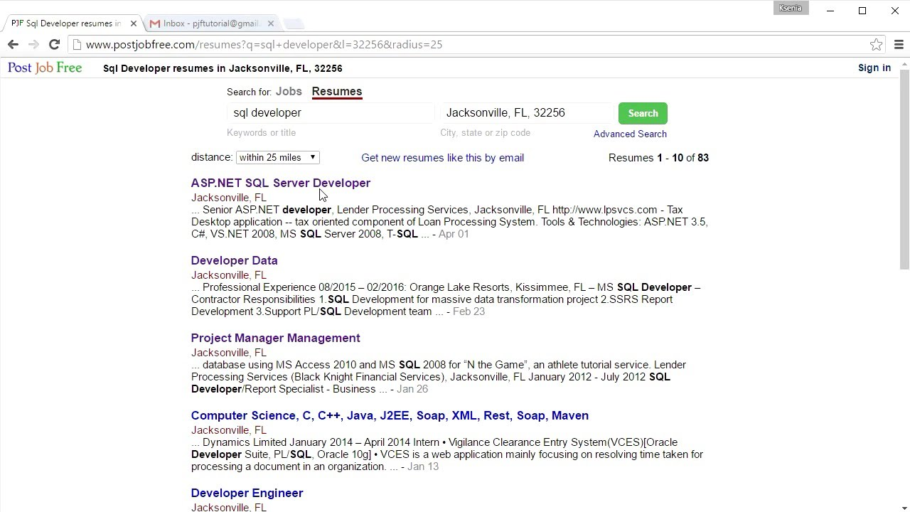 how to search resumes for free - Search Free Resumes