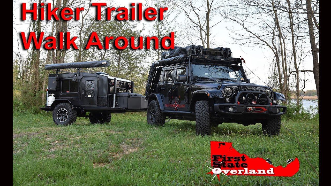 Hiker Trailer Walk Around Youtube