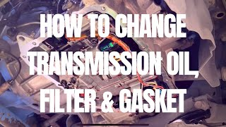 How to Replace Automatic Transmission Fluid, Filter, and Gasket - Toyota Wigo, Ayla, Aygo