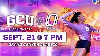 Gambar cover GCU Women's Volleyball vs Omaha September 21, 2019