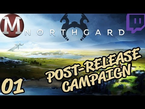 Northgard Let's Play Campaign (Post-Release) - Part 1 [TWITCH VOD]