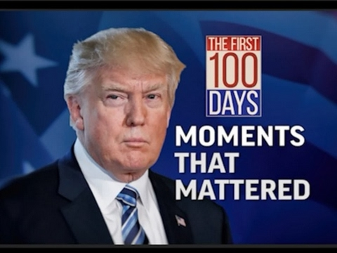 Trump 100 Days: A Look at Moments That Mattered