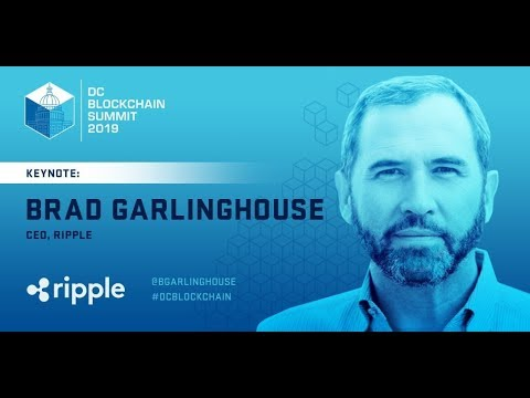Ripple : CEO Brad Garlinghouse At Fintech Week 2019
