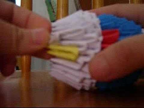 3D origami  YouTube