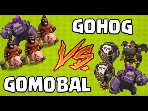 Clash Of Clans   Des 3 étoiles FACILES Avec 2 Techniques ULTIMES   GOHOG VS GOMOBAL