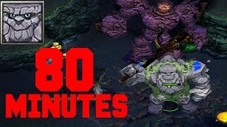DOTA TINY 80 MINUTES GAME - BEYOND GODLIKE