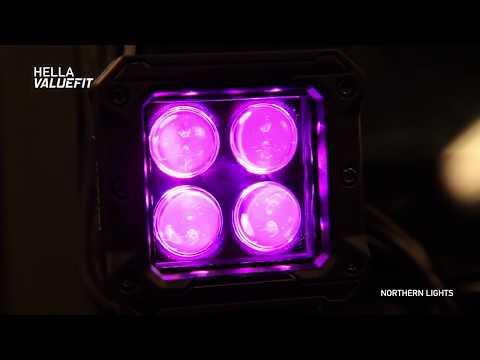 Hella ValueFit Northern Lights LED Lights