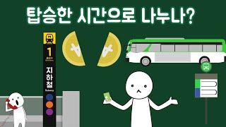 대중교통 업체들은 환승 운임을 어떻게 나눌까?