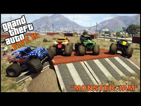 GTA 5 ROLEPLAY - MONSTER JAM FREESTYLE  - EP. 334 - CIV