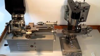 Cowells 90ME Lathe and Cowells Vertical Milling Machine Metric