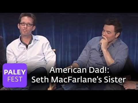 American Dad!  Seth on Working with His Sister