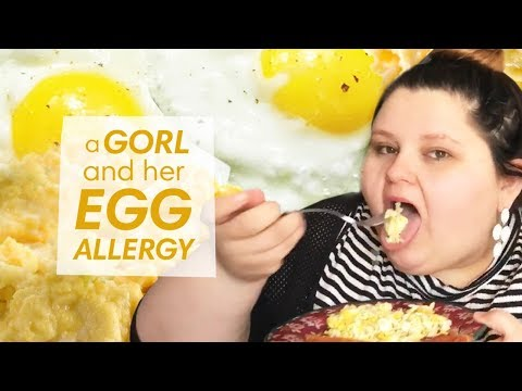 a GORL and her EGG ALLERGY  amberlynn reid saga