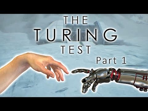 Are we the same as advanced AI's?! | The Turing Test Playthrough Part 1