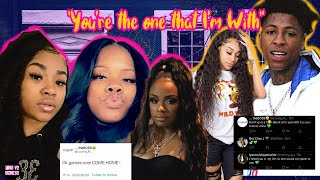 NBA Youngboy Sent Kayylmariee back HOME? YB Sweet Talks Starr In New Song ADMITS they're 2gether!