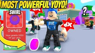 I BOUGHT THE MOST EXPENSIVE YO-YO IN YO-YO SIMULATOR!! (Roblox)