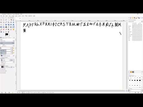 How I Short-Hand Anglo Saxon Runes (Old English Runes) - Not standard Fuþorc
